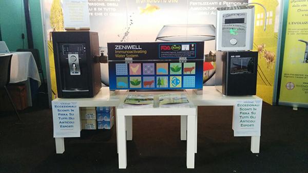 Sistema produzione acqua bioattiva